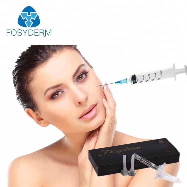 Sodium Hyaluronate Gel Injection Dermal Filler Do wygładzania linii czoła
