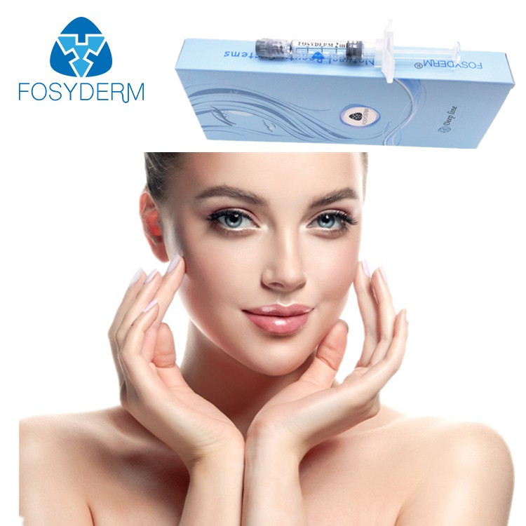 Chiny Fosyderm 2 ml Filler Injectable Dermal Filler Kwas hialuronowy Deep Clear fabryka