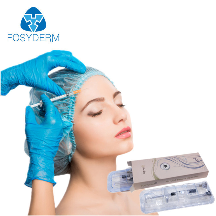 Chiny Fosyderm 1 ml Fine Line Hialuronic Acid Dermal Filler Injectable For Anti Wrinkles fabryka